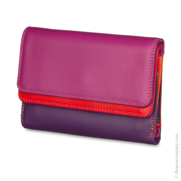 Sangria Multi Mywalit Double Flap Wallet/ Purse