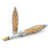 Jack Row Architect fountain pen White Gold with Diamonds - 3
