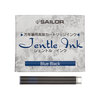 Blue-black Sailor Jentle ink cartridges - 1