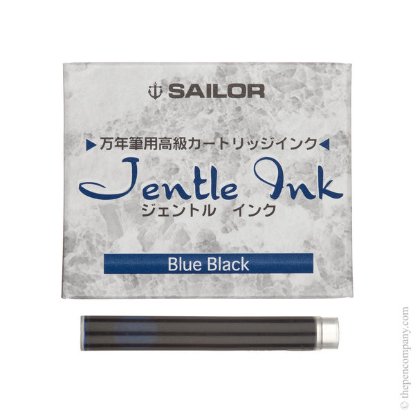 Blue-Black Sailor Jentle Ink Cartridges Ink Cartridges