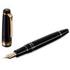 Sailor professional Gear Realo Fountain Pen Black with Gold Trim - 2