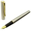 Diplomat Traveller Fountian Pen Chrome Gold-2