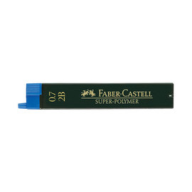 2B 0.7mm Faber-Castell Leads - 1