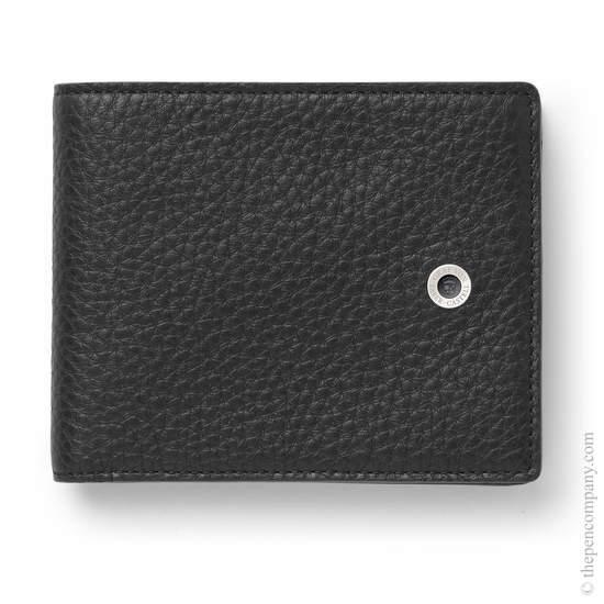 Black Graf von Faber-Castell Cashmere Leather Wallet - 1