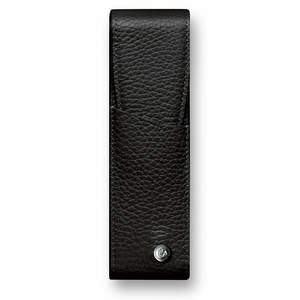 Ebony Caran d Ache Leman Pen Case for Two Pens - 1