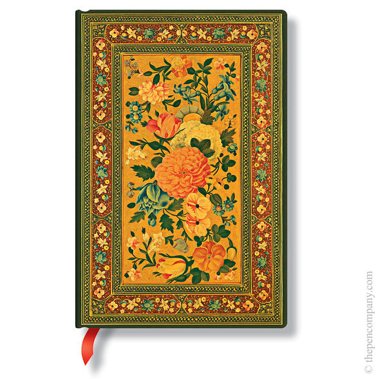 Lined Mini Paperblanks Glowing Rose Rose Garden Journal - 1