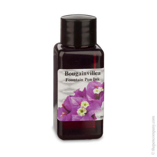 Bougainvillea Diamine Bottled Flower Collection Fountain Pen Ink Refills