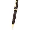 Black/Gold Sailor Professional Gear Naginata-Togi Fountain Pen - Naginata Togi Medium Fine Nib - 4