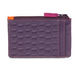 Mywalit Ellie Card Holder with Zip Sangria Multi - 1