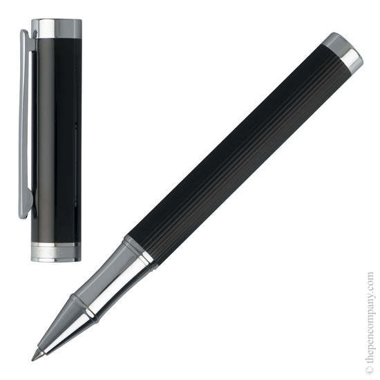 Stripes Hugo Boss Column Rollerball Pen - 1