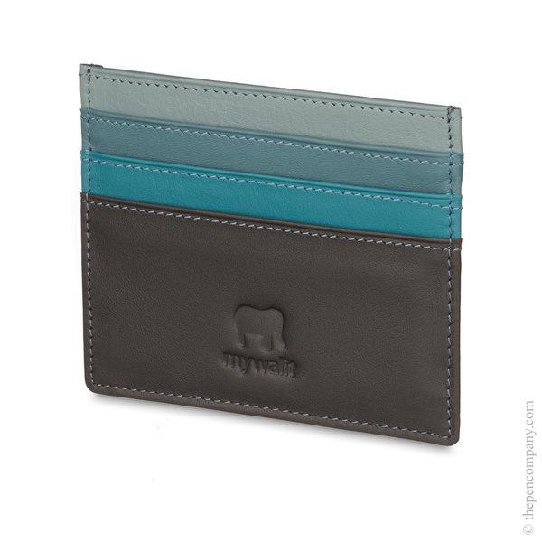 Smokey Grey Mywalit Small Card Holder