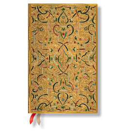 Paperblanks Gold Inlay Maxi 2016 Horizontal Diary - 1