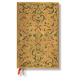 Paperblanks Gold Inlay Maxi 2016 Horizontal Diary - 1