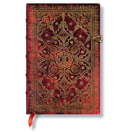 Lined Mini Paperblanks Carmine Equinoxe Journal - 1
