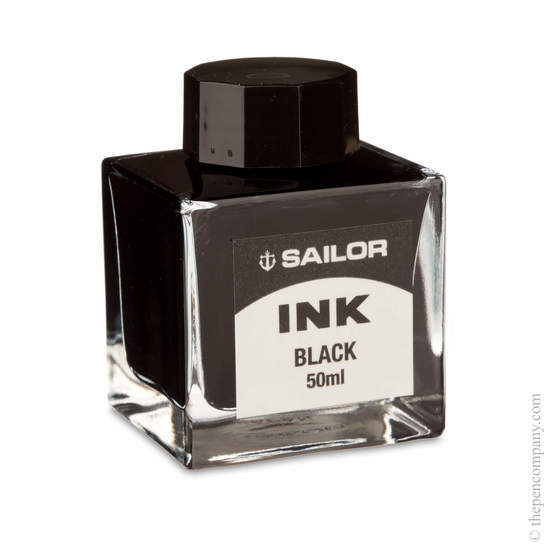 Black Sailor Fountain Pen Ink - 1