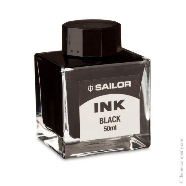 Black Sailor Bottled Fountain Pen Ink