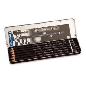 Black Staedtler Mars Lumograph  Selection Pack Pencil - 1