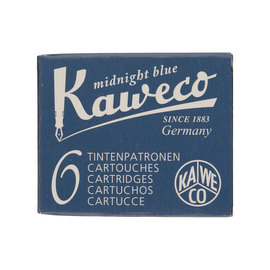 Midnight Blue Kaweco Fountain Pen Cartridges - 1