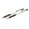 Tombow Zoom 707 Ball Pen and Pencil White with Green - 1
