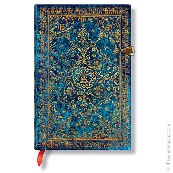 Lined Mini Paperblanks Azure Equinoxe Journal - 1