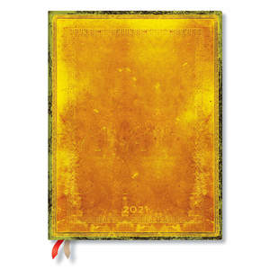 Paperblanks Ochre Old Leather Flexi 2021 Diary Ultra