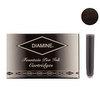 Diamine Jet Black Fountian Pen Cartridges 18 Pack - 1