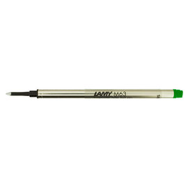 Lamy M63 Rollerball Pen Refill Green - 1