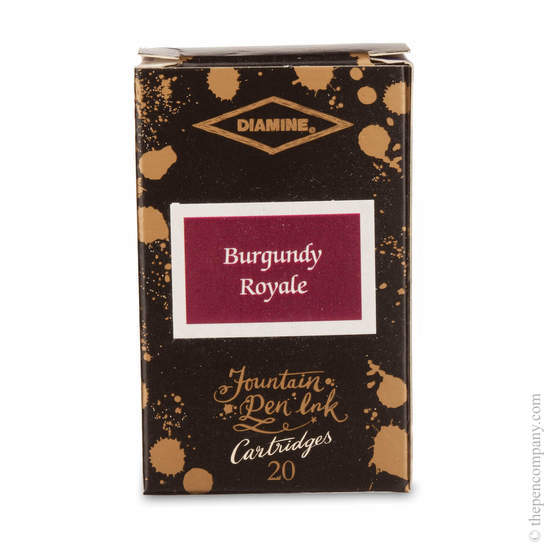 Burgandy Royale Diamine 150th Anniversary Ink Cartridges - 1