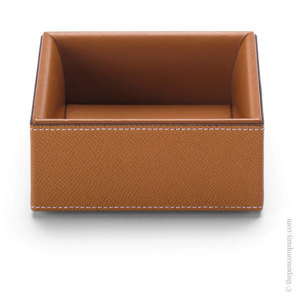Cognac Graf von Faber-Castell Pure Elegance Large Accessories Box