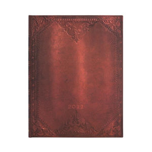 Paperblanks Urban Glam Bold The New Romantics 2022 Diary Ultra - Front