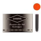 Diamine Orange Fountian Pen Cartridges 18 Pack - 1
