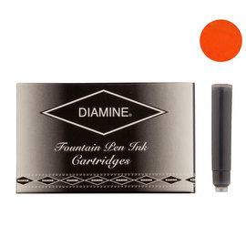 Diamine Orange Fountian Pen Cartridges 18 Pack - 1