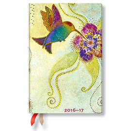 Paperblanks Hummingbird 2016-17 academic diary - 1