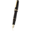Sailor Professional Gear Realo Fountain Pen Black with Gold Trim - 1
