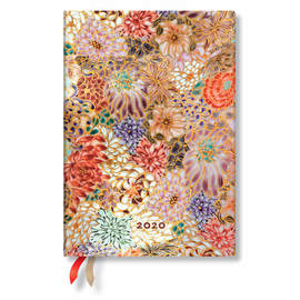 Midi Paperblanks Michiko 2020 Diary Kikka Horizontal Week-to-View - 1