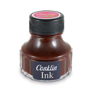 Rose Pink Conklin Fountain Pen Ink - 1