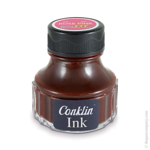 Rose Pink Conklin Fountain Pen Ink