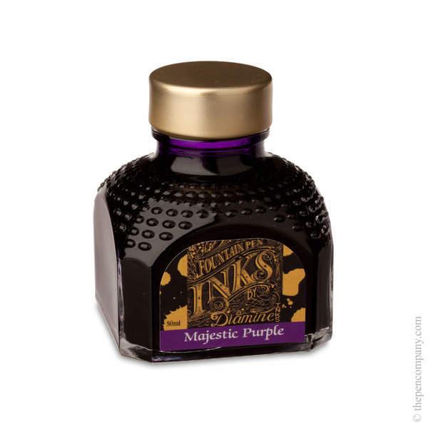 Majestic Purple Diamine Bottled Fountain Pen Ink 80ml