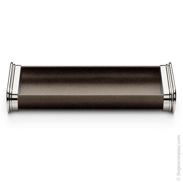Dark Brown Graf von Faber-Castell Epsom Pen Tray