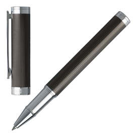 Hugo Boss Column Dark Chrome Rollerball Pen