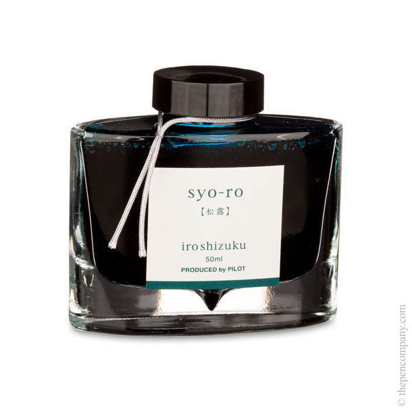 Syo-Ro Pilot Bottled Iroshizuku Ink