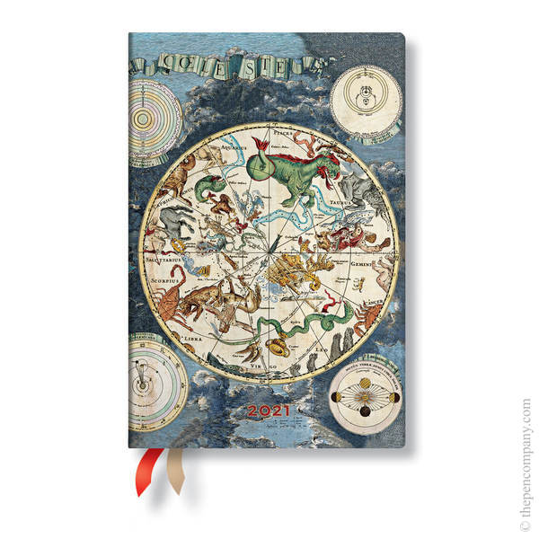 Mini Paperblanks Early Cartography 2021 Diary 2021 Diary