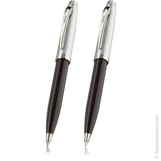 Sheaffer100 set Gloss black and Chrome - 1
