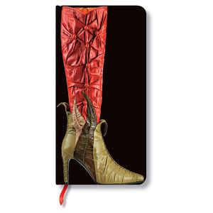 Lined Slim Paperblanks Fabulous Footwear Temptress Journal - 1