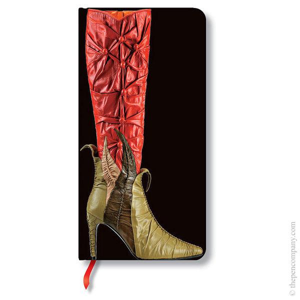Slim Paperblanks Fabulous Footwear Journal