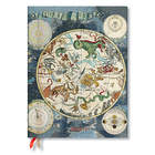 Paperblanks Celestial Planisphere Early Cartograpy Flexi Academic Diary Ultra