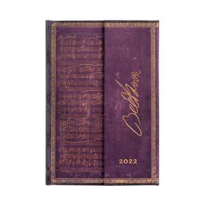 Paperblanks Embellished Manuscripts 2022 Diary 2022 Diary Mini Beethoven, Violin Sonata No. 10 - 3