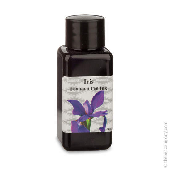 Iris Diamine Flower Collection Fountain Pen Ink Refills - 1