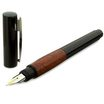 Lamy Accent Brilliant Fountain Pen Black/Briar Wood Medium Nib - 6