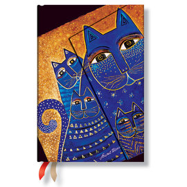 Paperblanks Mediterranean Cats Mini 2016 Horizontal Diary - 1